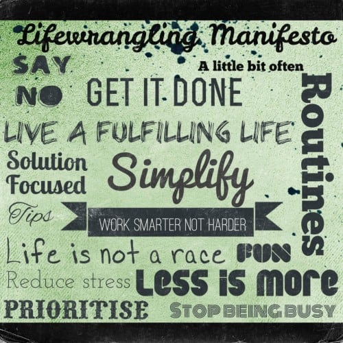 The Lifewrangling Manifesto 6