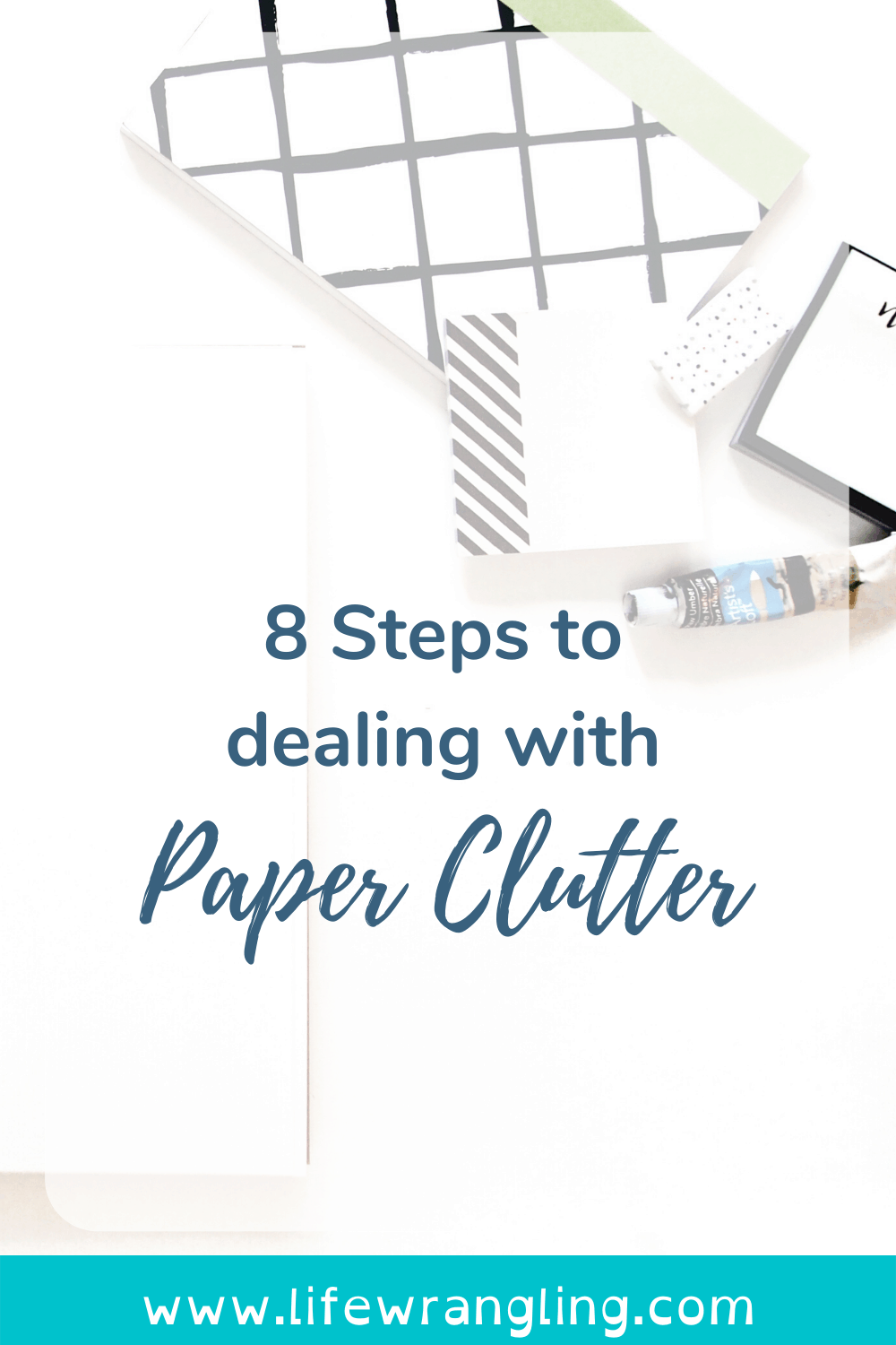 Dealing with paper clutter