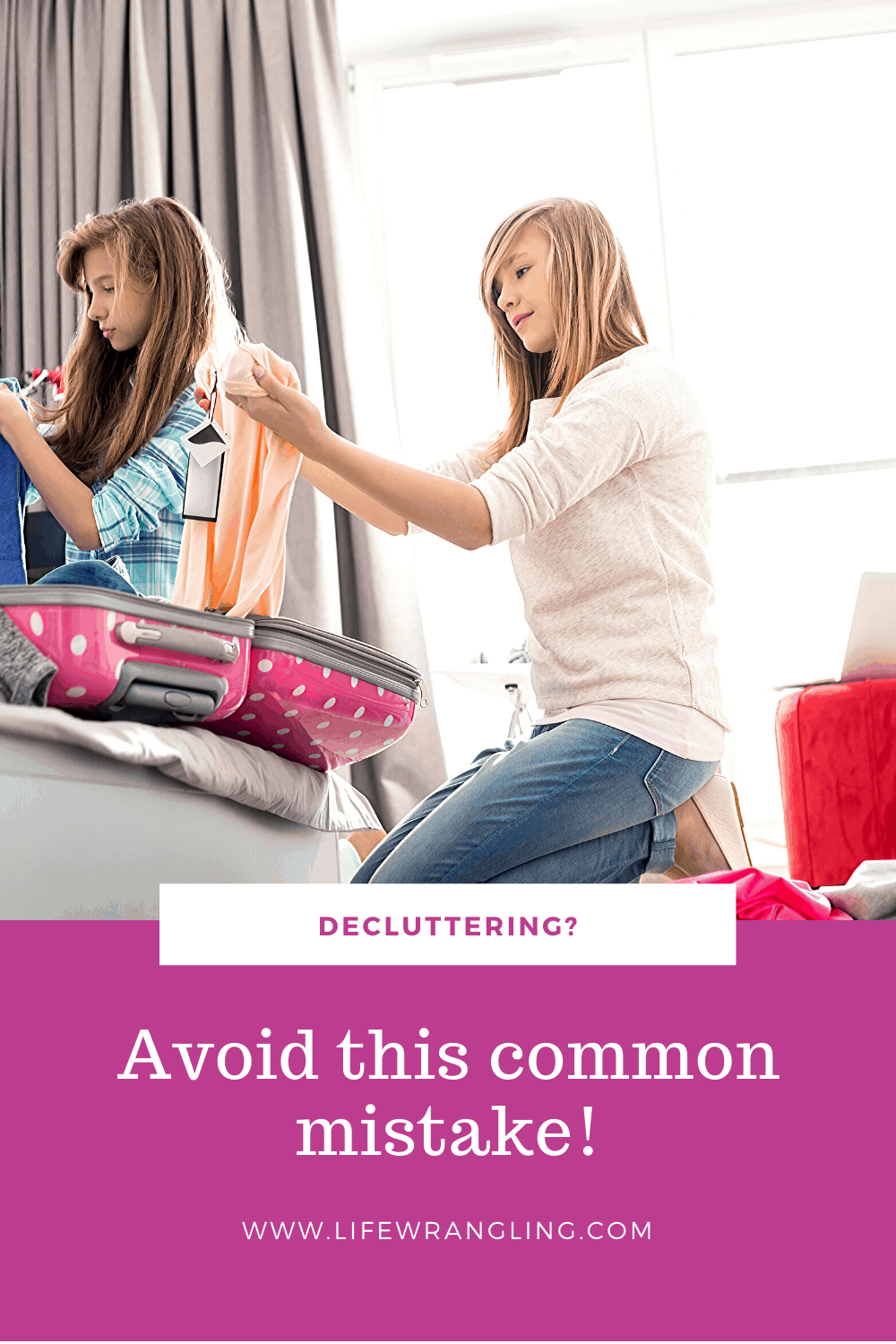 An important thing to avoid in your decluttering journey.