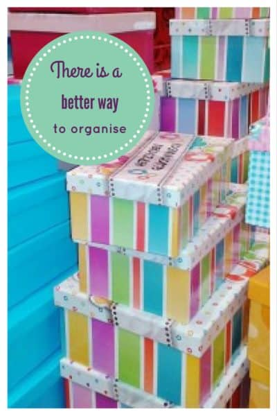 Organise more or organise less? 9