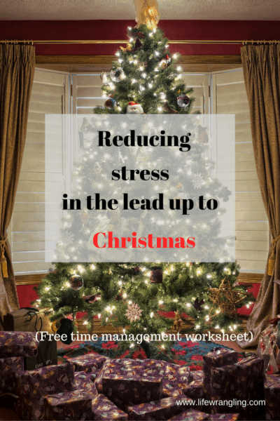 Does thinking about all of the events in the lead up to Christmas cause you stress? Learn how to take care of yourself at this busy time.