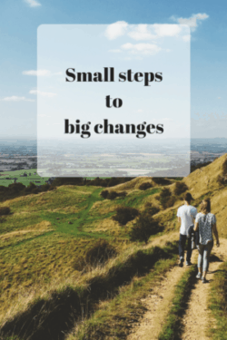 Small steps: The easy way to make big changes 1