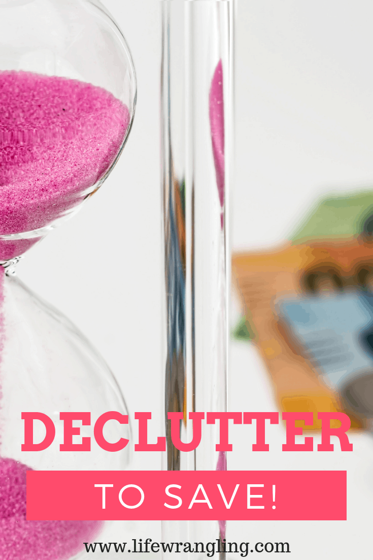 How to declutter to save time