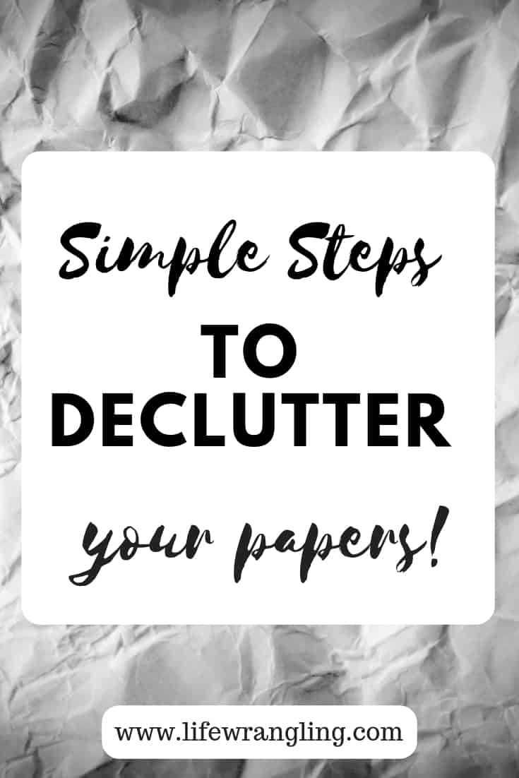 Simple tips to declutter paper 22