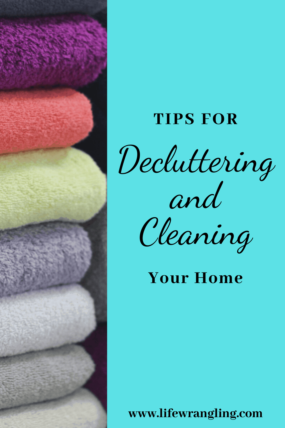 Decluttering and Cleaning